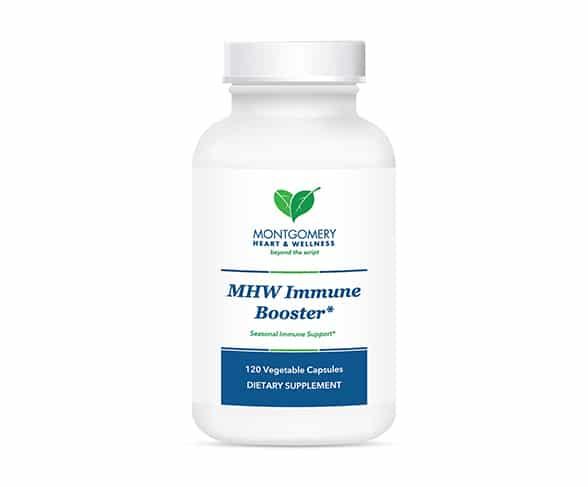MHW Immune Booster, 120 Vegetable Capsules